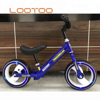 New design with no pedals kids boy easy rider mini walking balance bicycle push bike for baby toddlers