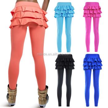 55fd8a05caec Wholesale Custom Yoga Pants Skirt Sport Running Dancing Pants Yoga ...