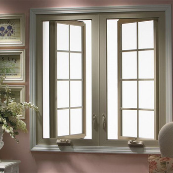 Aluminum Or Stainless Steel Casement Window With Glass