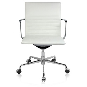 Muslim pure white leather chair for office