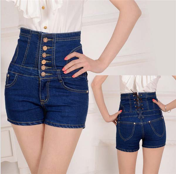 high waisted shorts workout with pockets yoga sport shorts cheap ILUCI Women Denim Jeans Summer Ripped High Waisted Denim Shorts Length Jeans .