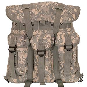 Ultimate Arms Gear ACU Terrain Army Digital Camo Camouflage Small A.L.I.C.E. Field Pack Backpack