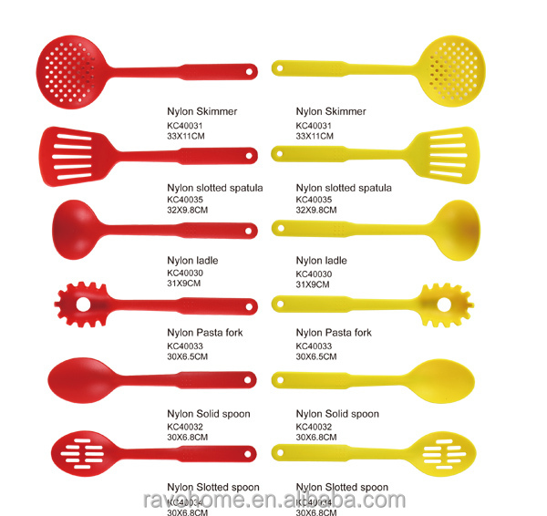 FAD Standard 6PCS Nylon Kitchen Utensils