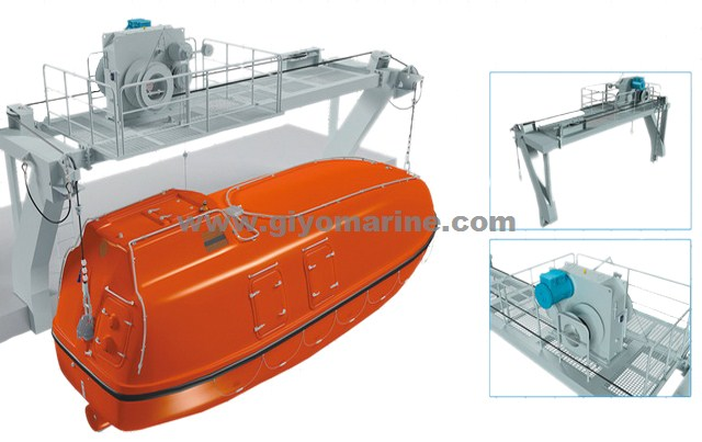 Marine Life Boat,Fiberglass Life Boat,Partially Enclosed Life Boat ...