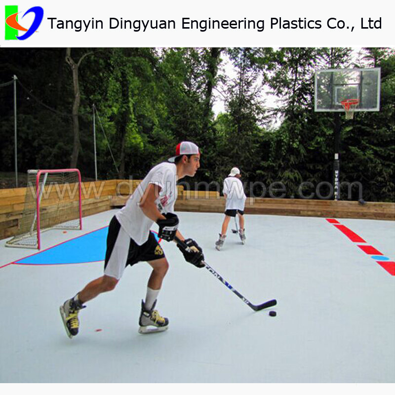 UHMWPE Synthetic Ice Hockey Training Rink/roller Skating Rink Flooring