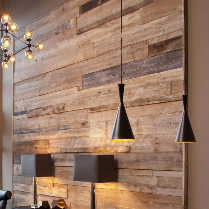 Rustic Wood Interior Wall Paneling