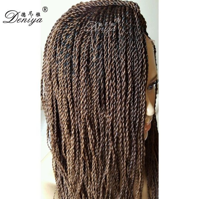 Pre Twisted Hair Senegalese Kinky Twist Braided Lace Wig Buy Pre Twisted Hair
