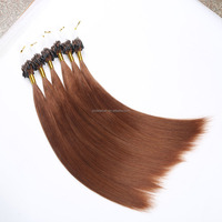 Wholesale Cheap Price 22inch Micro Ring Bead Brazilian Human Hair Weave Extension with Thick Hair