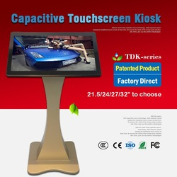 Factory supply i3/i5/i7 cpu frameloze touchscreen monitor van CE Standaard
