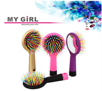 2016 My girl High quality plastic wide tooth hair comb cheap common plastic hair comb