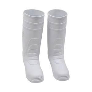 lightweight safety boots food industry boots pvc rain boots
