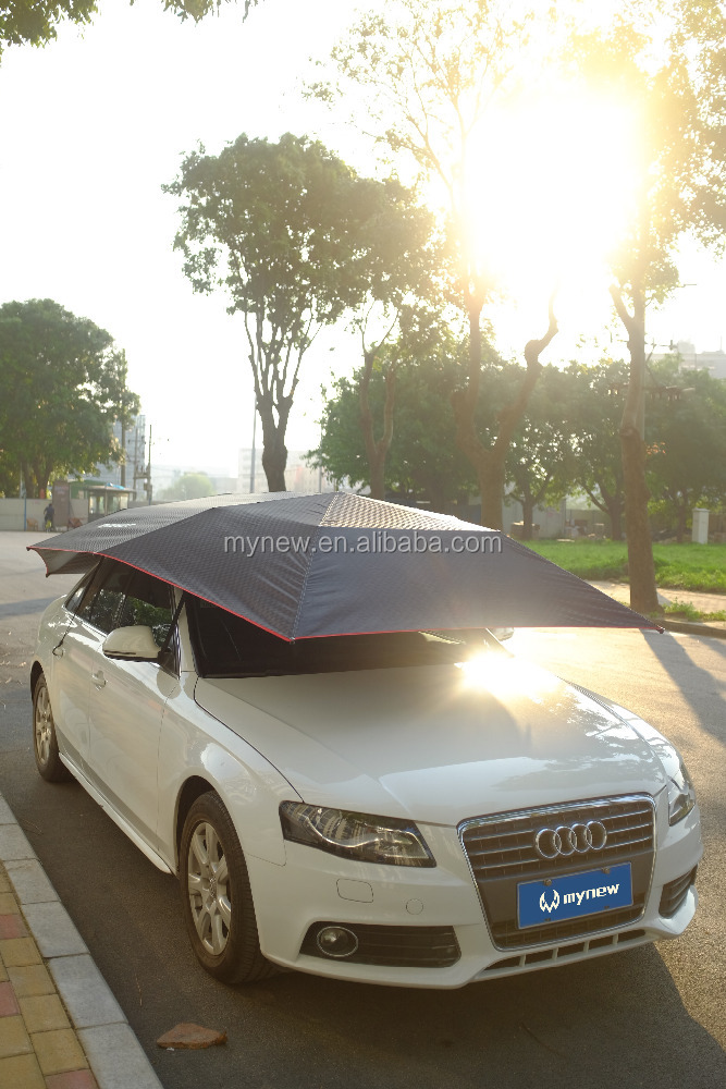 2017 Innovative car parking automatic car umbrella with windproof function