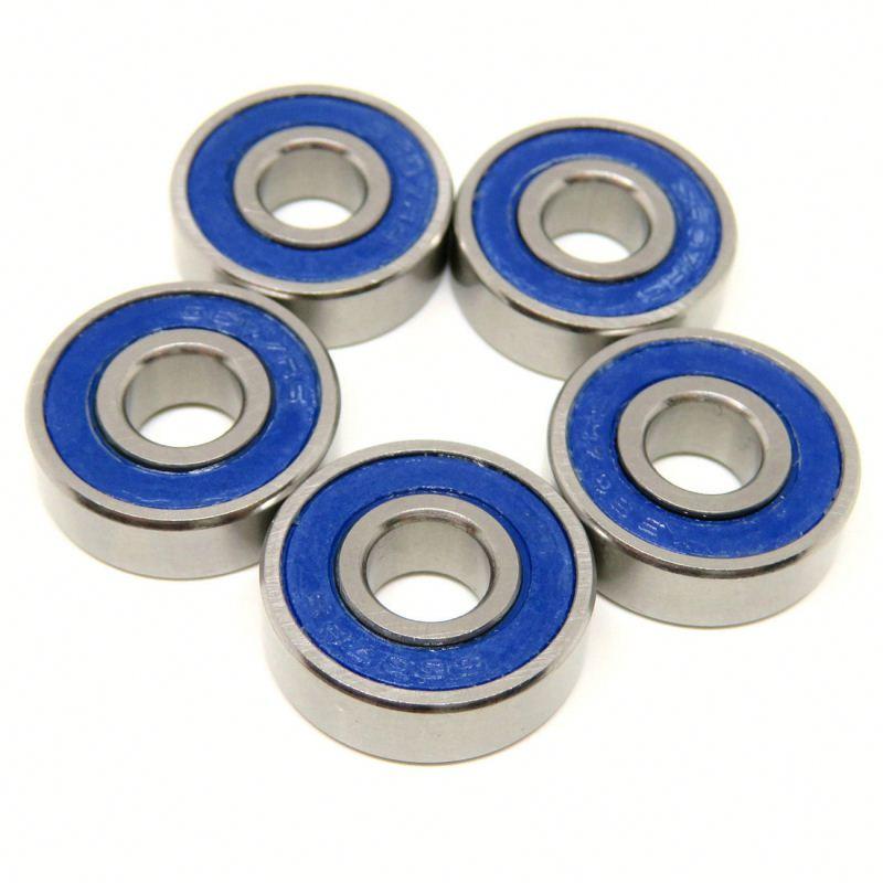 F697ZZ Metal Shielded 25 PCS Ball Bearing F697z 7x17x5 mm Flanged