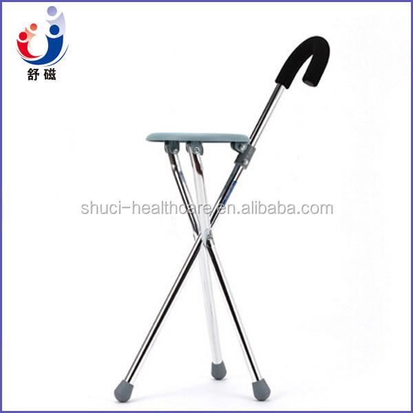 Tabouret pliant m dicale b ton de marche avec chaise for Baton de chaise synonyme