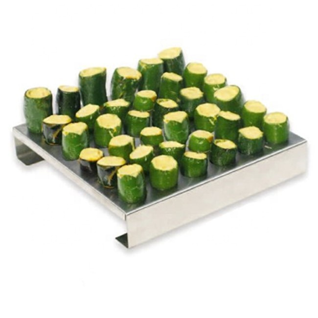 Stainless Steel 36holes Chili Grill Jalapeno Rack With Pepper  Corer