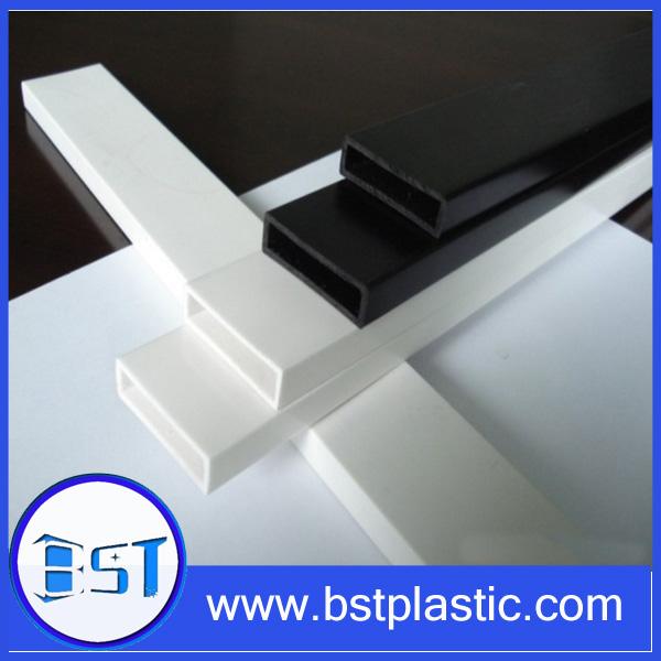 Abs tubo rectangular abs r gido tubo cuadrado tubo - Tubo pvc cuadrado ...