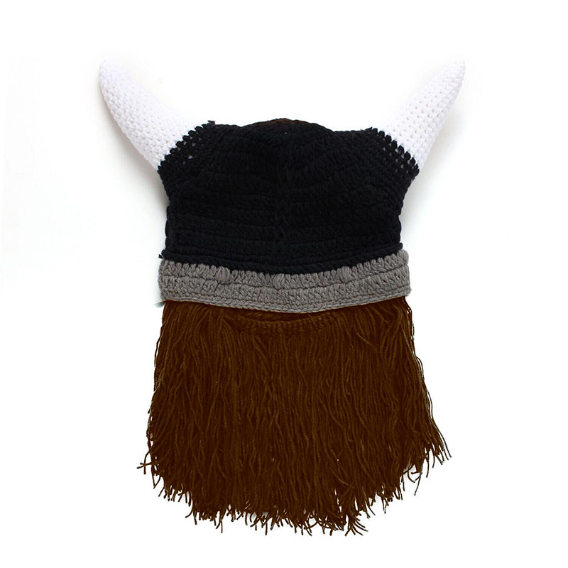 Stylish popular 3 colors available Horn Style Funny Viking Hat