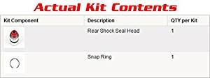 REAR SHOCK SEAL HEAD KIT SUZUKI LTZ400 Z400 LTZ 400 2003 2004 2005 QUADSPORT