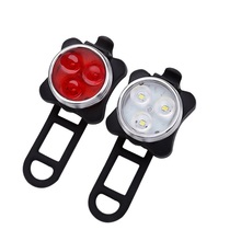 160 lumen <span class=keywords><strong>USB</strong></span> sạc màu đỏ 3 wát Led Bike tail light