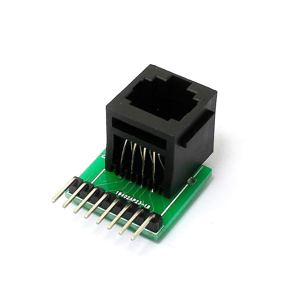 Cheap Cat6 Rj45 Connector Find Deals On Line At Cat 6e Modular Jack Plug To Wiring Harness For Get Quotations 2pcs 8 Pin And Breakout Board Kit Cat5 Cat5e