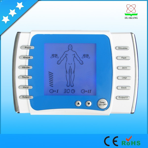 2014 new products electric muscle stimulator device tens machine