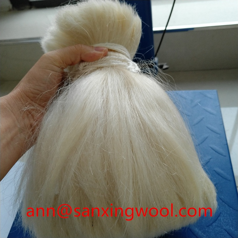 2016 NEW Color 100% virgin Yak Hair, washed and straight treatment