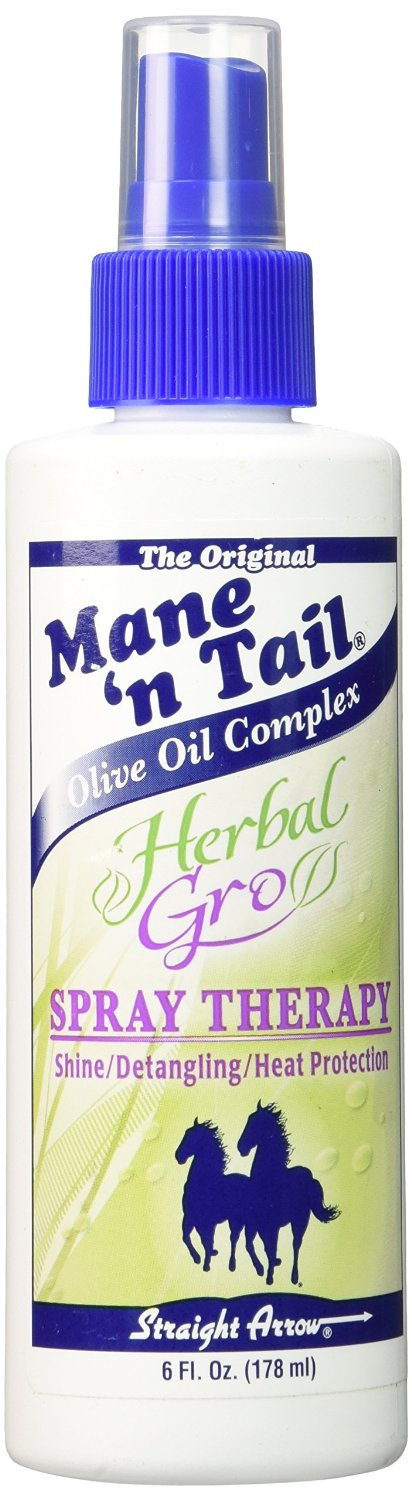 Straight Arrow Mane 'N Tail Herbal Gro Spray Therapy 6oz