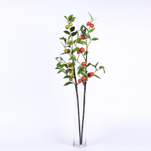 indoor decorative small artificial orange trees branches fruit plants Artificial Orange Branch