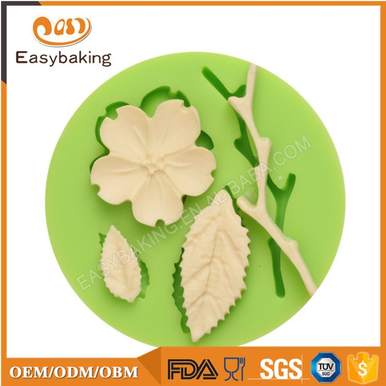 ES-4411 Fondant Mould Silicone Molds for Cake Decorating