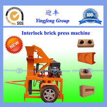 YF1-20 High quality interlocking brick making machine brick press