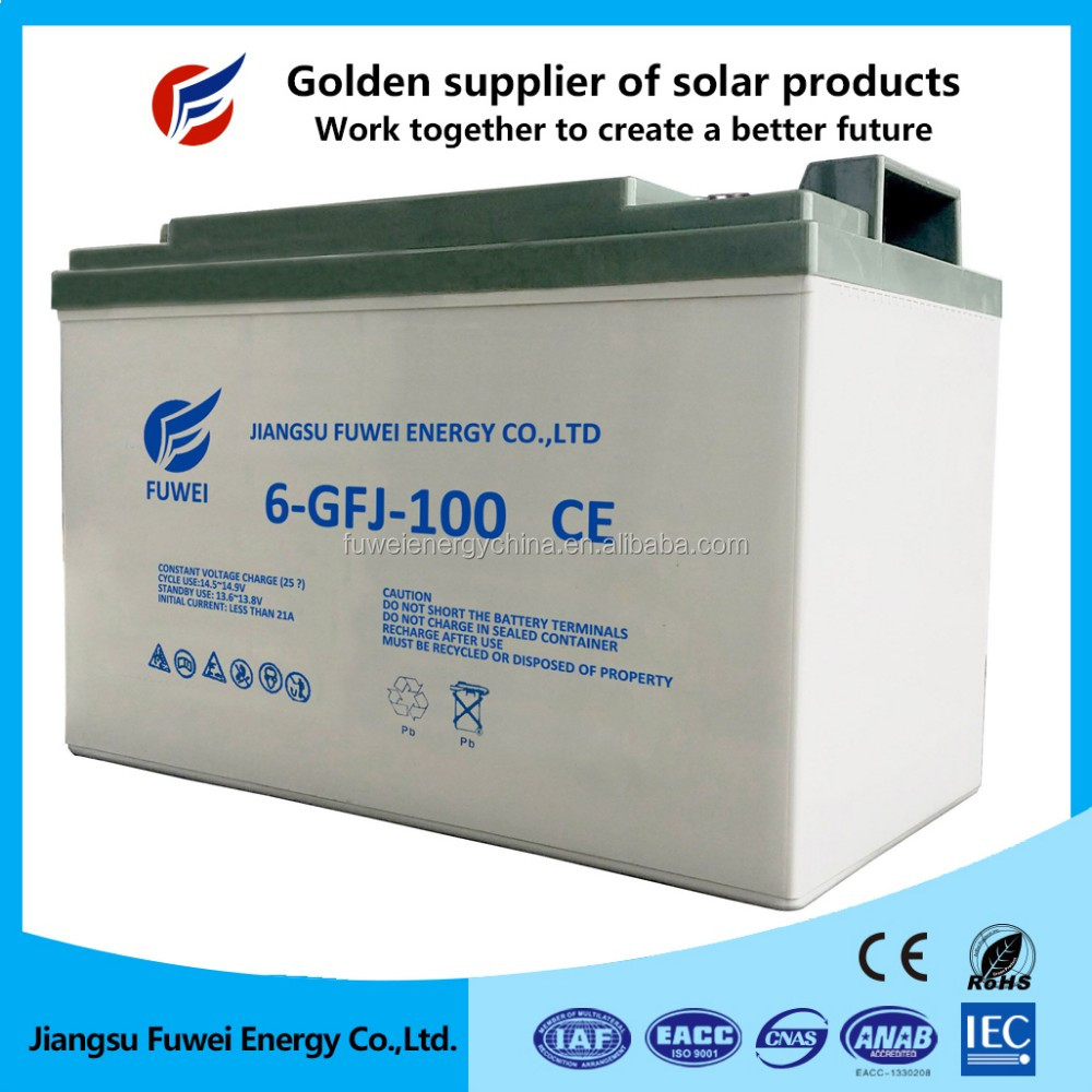 65AH ETC Waterproof Full Box Sealed Lead Acid Battery