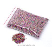 Custom Embellishment Scrapbooking 0.7mm Micro No Hole Cheap Glass Seed Beads China