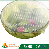 Cheap food cover film plastic, shrink wrap supplies, food wrap for bowl