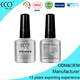 Manicure and pedicure products supplier custom long last soak off transparent color nail polish for nail art