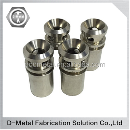 Custom factory mini cnc machined stainless steel lathe parts