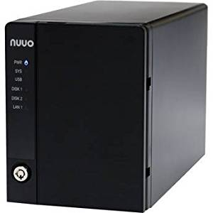 Nuuo Mini 2 NAS-based NVR Standalone 4 Channel, 2bay, 4TB included, US Power Cord (NE-2040-US-4T-4) New