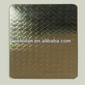 304 colored decorative embossed stainless steel sheet