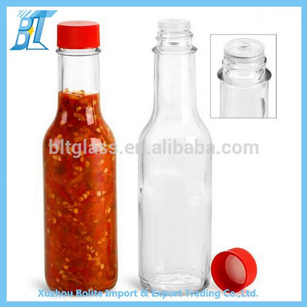 piment sauce bouteille en verre avec bouchon en plastique et gouttes 150 ml bouteilles id de. Black Bedroom Furniture Sets. Home Design Ideas