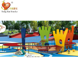 T-8017A outdoor kid comprehensive theme park amusement equipment customized by the site