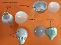 plastic parts energy saving lamp led bulb housing&cover