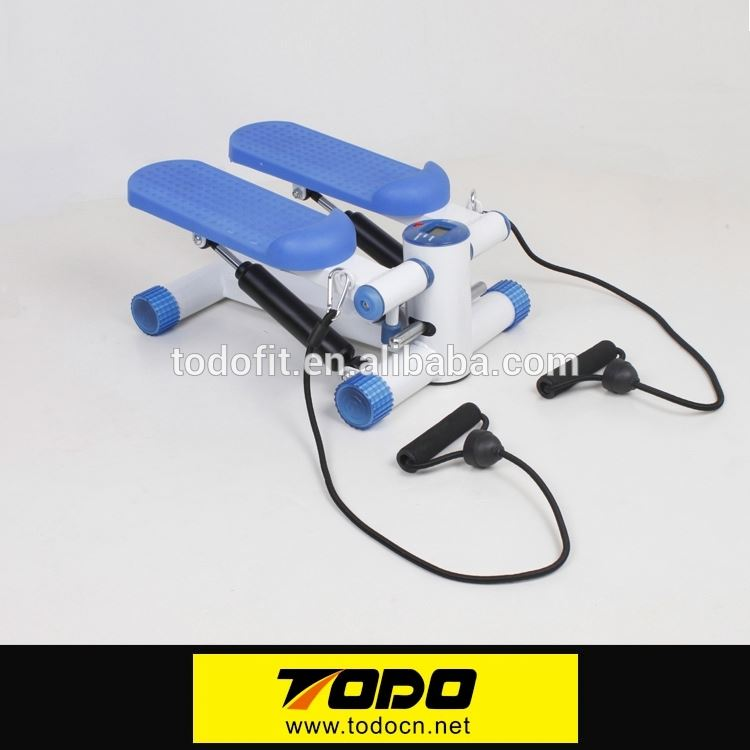Mini Stepper Twist Stepper GS certification fitness stepper with resistance cords gym equipment