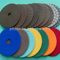 5 inch Wet Polishing Diamond Concrete Floor Grinding Pad