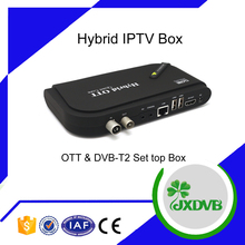 Combo 1080 p DVB T2 Android TV Box