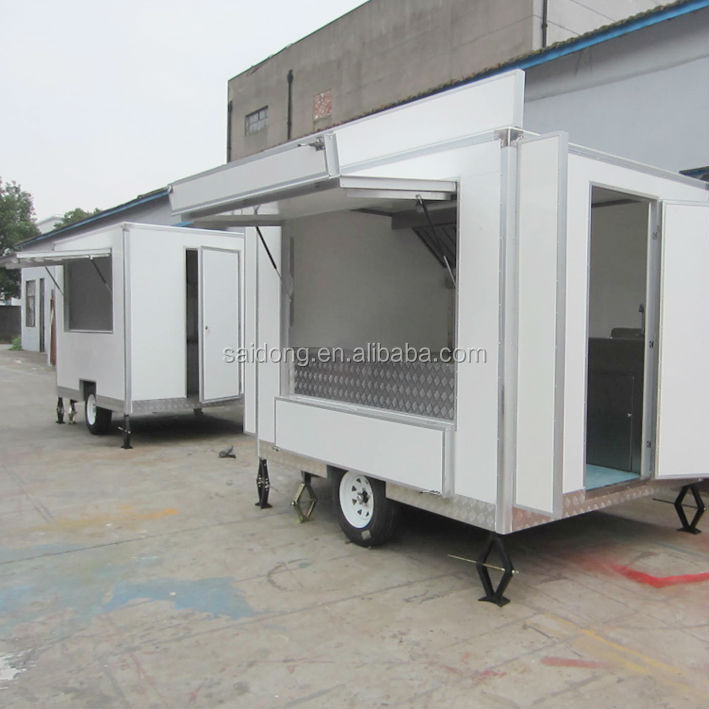 Mobile Kitchens Usa: Ce Iso9001 Oem Mobile Street Fast Food Trailer/ice Cream