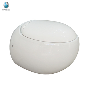 European standard round wall hung toilet, wall mounted toilet with built-in water tank, wall-hung toilet