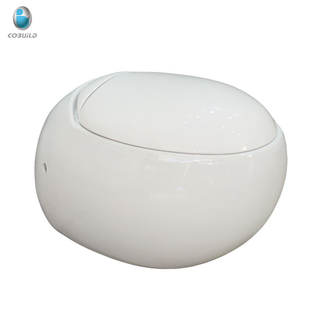 European standard round wall hung toilet, wall mounted toilet with built-in water tank, wall-hung toilet with concealed cistern