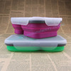 Lunch boxes school/foldable office container/thermal food box