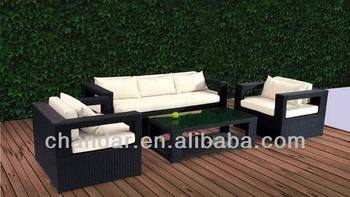 4 Piece Living Accents Outdoor Furniture Wicker Sofa