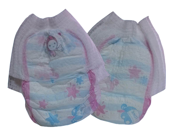 excellent elastic band blue adl plastic baby diaper pants with economical price