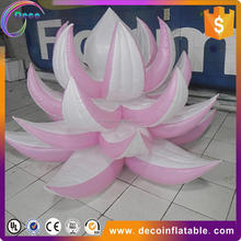 Beautiful inflatable wildflower/ inflatable flower with grass for ground outdoor decoration